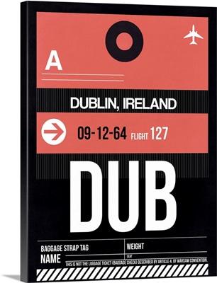 DUB Dublin Luggage Tag II