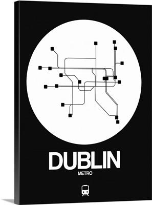 Dublin White Subway Map