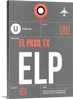 ELP El Paso Luggage Tag II