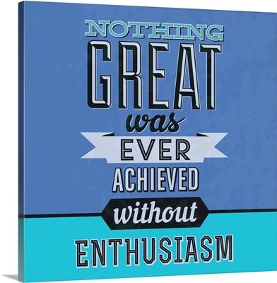Enthusiasm I
