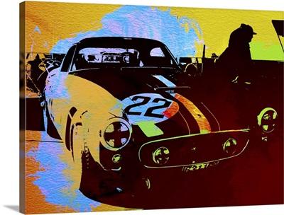 Ferrari Watercolor