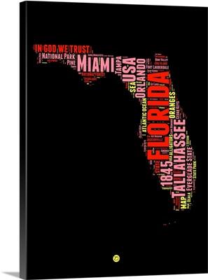 Florida Word Cloud I