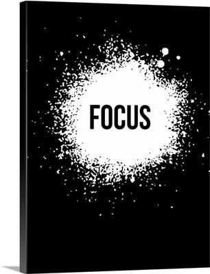 Focus Poster Black