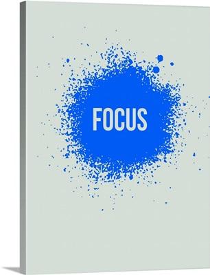 Focus Splatter Poster I