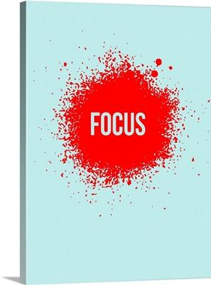 Focus Splatter Poster II
