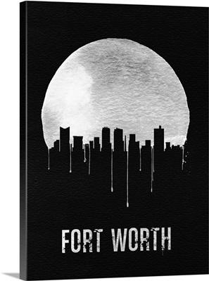 Fort Worth Skyline Black