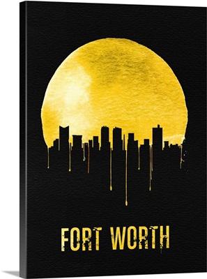 Fort Worth Skyline Yellow