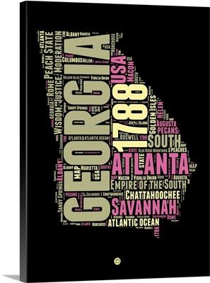 Georgia Word Cloud I