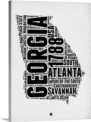 Georgia Word Cloud II