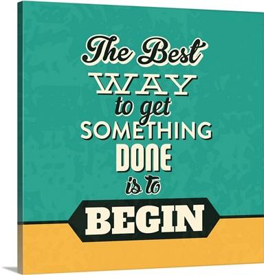 Get Something Done
