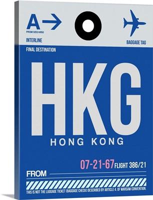 HKG Hog Kong Luggage Tag I