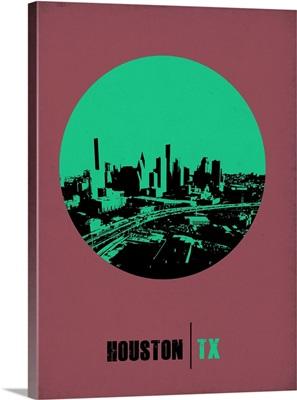 Houston Circle Poster I
