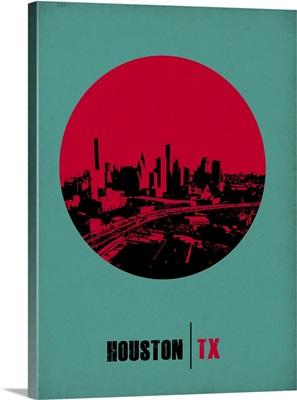 Houston Circle Poster II