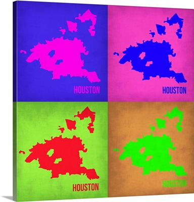 Houston Pop Art Map I