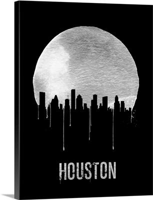 Houston Skyline Black