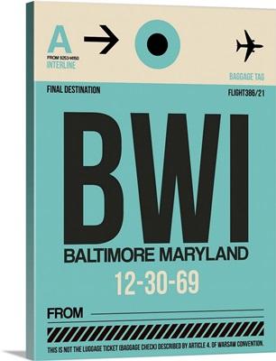 IAD Washington Luggage Tag II
