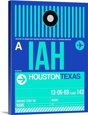 IAH Houston Luggage Tag II