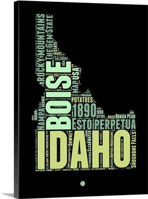 Idaho Word Cloud I