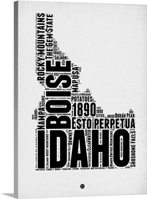 Idaho Word Cloud II