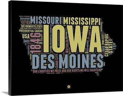 Iowa Word Cloud I
