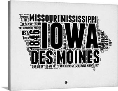 Iowa Word Cloud II