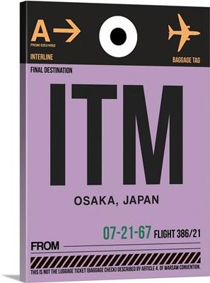 ITM Osaka Luggage Tag I