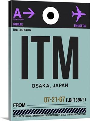 ITM Osaka Luggage Tag II