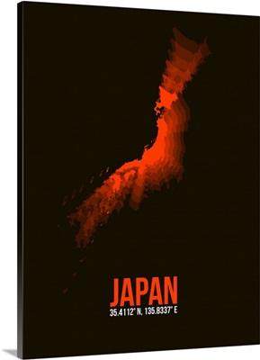 Japan Radiant Map I