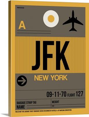 JFK New York Luggage Tag III