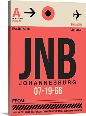 JNB Johannesburg Luggage Tag II