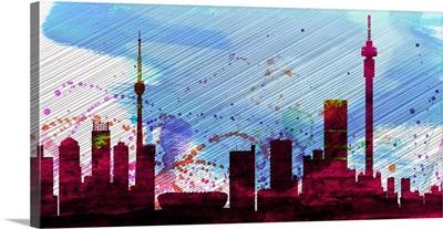 Johannesburg City Skyline