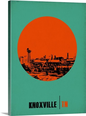 Knoxville Circle Poster I
