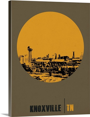 Knoxville Circle Poster II