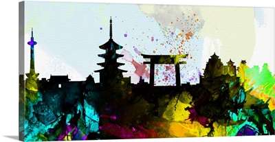 Kyoto City Skyline