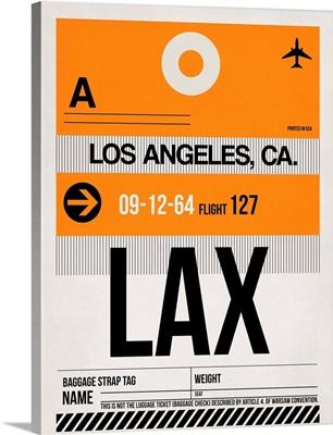 LAX Los Angeles Luggage Tag II