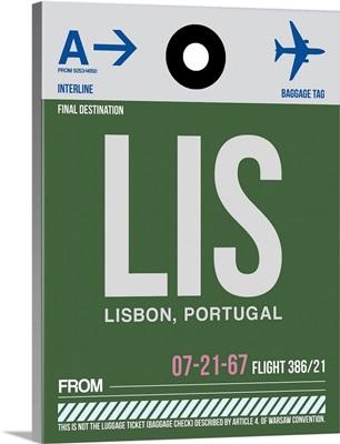 LIS Lisbon Luggage Tag II