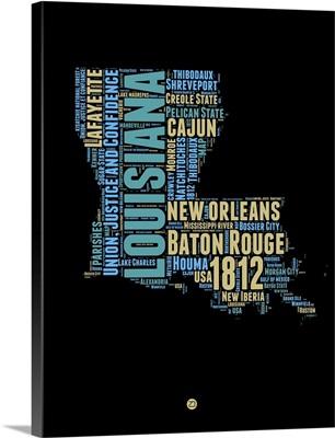 Louisiana Word Cloud I