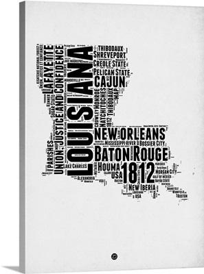 Louisiana Word Cloud II