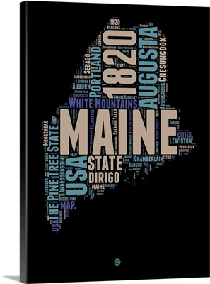 Maine Word Cloud I