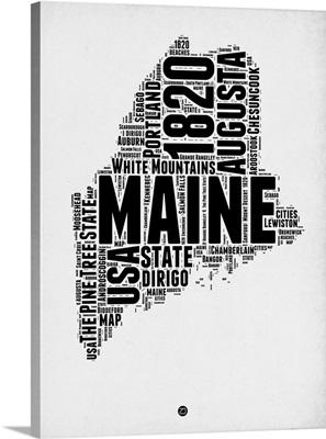 Maine Word Cloud II