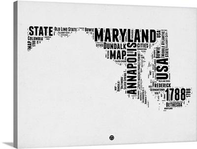 Maryland Word Cloud II