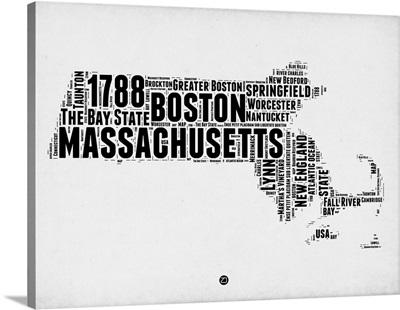 Massachusetts Word Cloud II