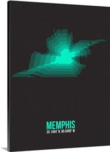 Memphis Radiant Map II