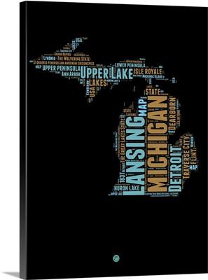 Michigan Word Cloud I