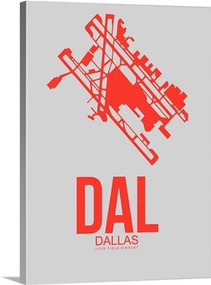Minimalist DAL Dallas Poster I