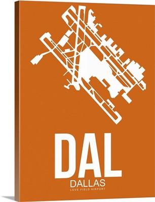 Minimalist DAL Dallas Poster II