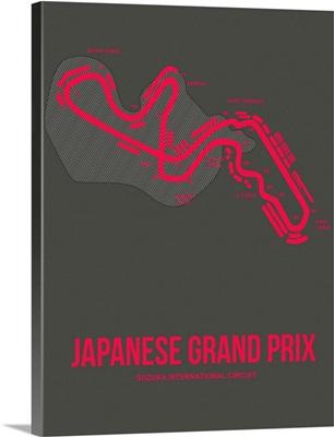 Minimalist Japanese Grand Prix Poster III
