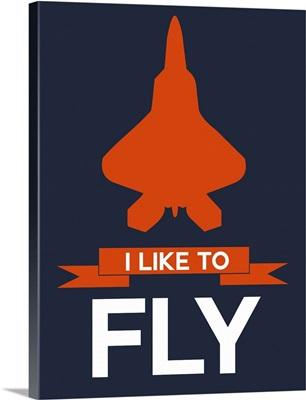 Minimalist Jet Poster I