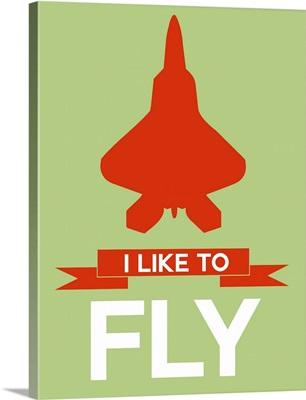 Minimalist Jet Poster II