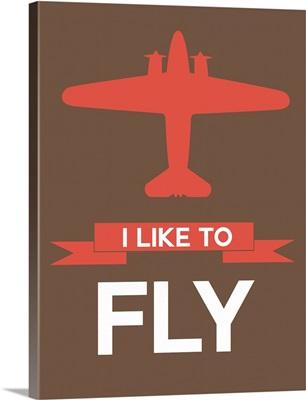 Minimalist Plane Poster II